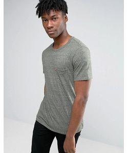 Levi's® | Рубашка С Короткими Рукавами И Карманом Levis Sunset Olive Night