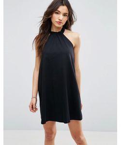 Asos | Платье С Лямкой Через Шею