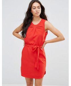 Lavand.   Платье Без Рукавов С Завязкой На Талии Lavand