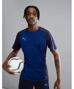 Puma | Темно-Синяя Спортивная Футболка Football Evotrg 65533750