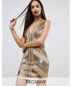 Starlet | Платье Мини С Пайетками