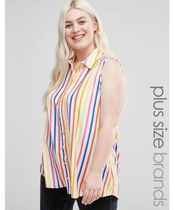 Koko | Plus Shirt In Candy Stripe