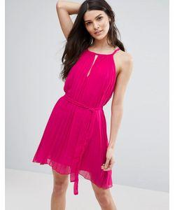 Jasmine | Плиссированное Платье С Вырезом Капелькой