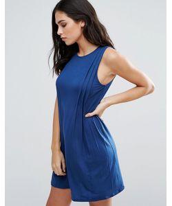 BCBGMAXAZRIA | Цельнокройное Платье Со Складками Спереди Bcbg