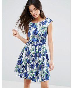 Louche | Короткое Приталенное Платье С Поясом Julita