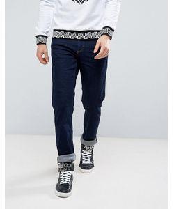 Versace Jeans | Джинсы Слим С Логотипом В Виде Тигра Versace