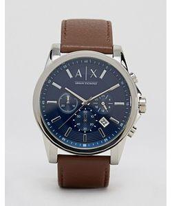 ARMANI EXCHANGE   Часы С Кожаным Ремешком Ax2501