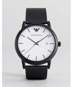 Emporio Armani | Черные Часы 43 Мм Ar11046