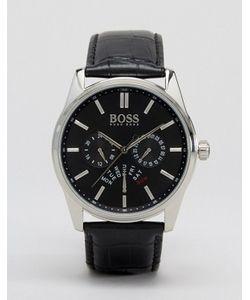 BOSS | Часы С Хронографом И Кожаным Ремешком By Hugo 1513124