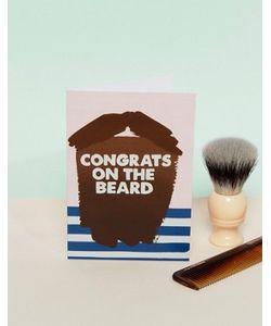 Jolly Awesome | Поздравительная Открытка С Надписью Congrats On The Beard