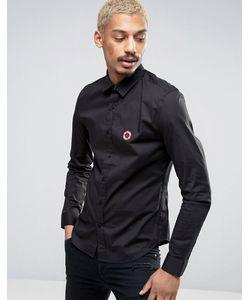 Love Moschino | Рубашка С Вышитым Логотипом На Груди