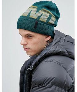Marmot | Зеленая Шапка-Бини С Логотипом Ferdi Thermolite