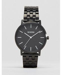Nixon | Черные Наручные Часы Porter
