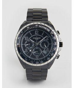 Police | Черные Часы-Браслет С Дополнительными Циферблатами Navy