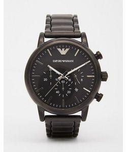 Emporio Armani | Черные Часы С Хронографом Из Нержавеющей Стали Ar1895