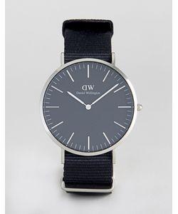 Daniel Wellington | Часы С Серебристым Циферблатом Classic 40 Мм