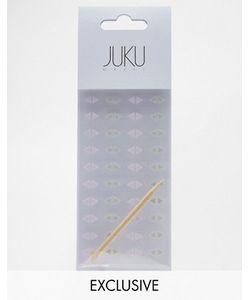JUKU Nails   Набор Треугольных Наклеек На Ногти Эксклюзивно Для