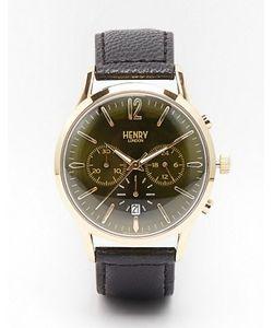 Henry London | Часы С Хронографом И Кожаным Ремешком Chiswick