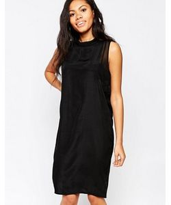 Minimum | Цельнокройное Платье С Высокой Горловиной
