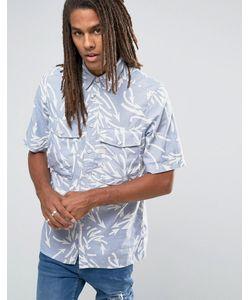 G-Star | Прямая Рубашка С Короткими Рукавами И Принтом Type C