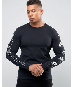 Nike | Футболка С Принтом На Рукавах International 803981-010