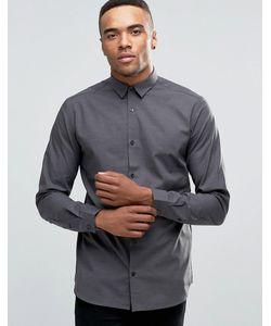 Jack & Jones | Строгая Рубашка Слим С Длинными Рукавами Premium