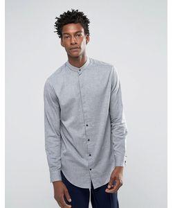 Selected Homme | Рубашка С Воротником На Пуговице И Асимметричным Краем