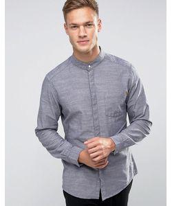 Esprit | Удлиненная Рубашка Слим С Воротником На Пуговице