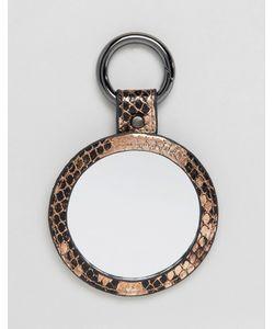 Asos   Snake Mirror Bag Charm Key Ring