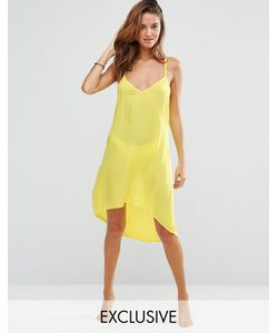 Akasa | Пляжное Платье С Лямками Сзади