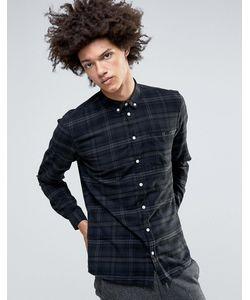 Minimum | Рубашка Узкого Кроя Из Хлопка С Начесом Canarsie
