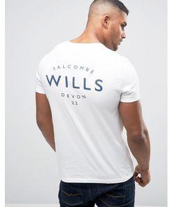 Jack Wills   Футболка С Принтом Wills
