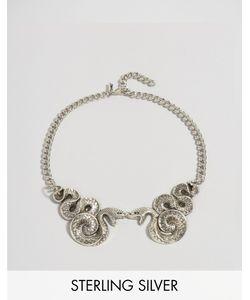 Regal Rose | Ожерелье-Воротник Со Змеями Halloween Malice