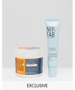 Nip+Fab | Набор Ночных Средств С Гликолевой Кислотой Nip Fab Эксклюзивно Для