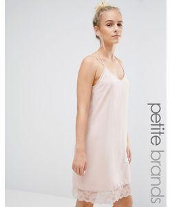 Vero Moda Petite | Платье С Кружевной Отделкой