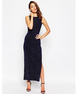 Sistaglam | Платье Макси Из Ткани С Блестками Sparkle
