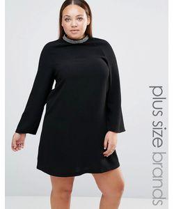 Lovedrobe | Платье С Декорированным Воротником Plus