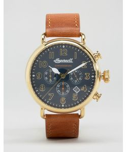 Ingersoll | Часы Со Светлокоричневым Кожаным Ремешком Trenton