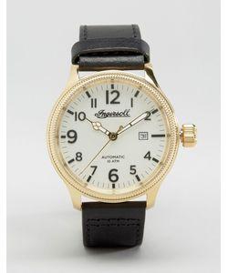 Ingersoll | Часы С Черным Кожаным Ремешком Apsley Automatic