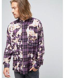 Reclaimed Vintage | Выбеленная Рубашка Классического Кроя