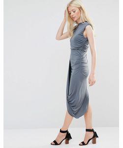 Wal G | Платье С Асимметричной Кромкой
