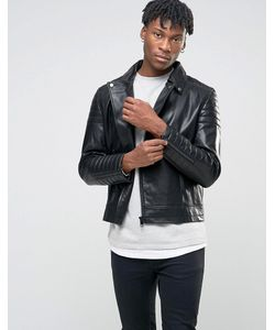 BL7CK | Wool Biker Jacket