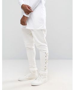 Granted | Drop Crotch Joggers With Lacing