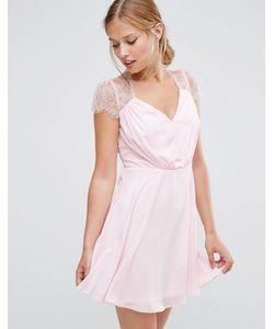 Asos | Кружевное Платье Мини Kate