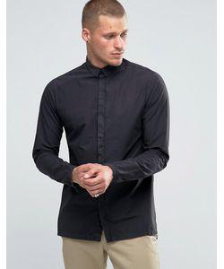 Selected Homme | Удлиненная Рубашка С Ровным Низом Plus