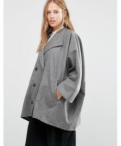 Cooper & Stollbrand | Короткое Двубортное Пальто В Стиле Oversize