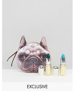 Winky Lux | Asos Exclusivelipstick Duo Free Pug Pouch