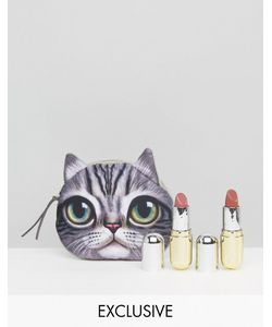 Winky Lux | Asos Exclusive Lipstick Duo Free Cat Pouch