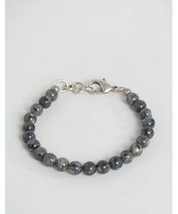 Seven London | Beaded Bracelet In Black