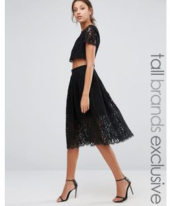 True Decadence Tall | Кружевное Короткое Приталенное Платье Для Выпускного